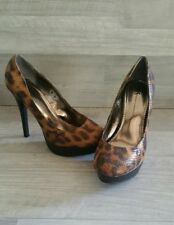 UK Style by French Connection Women shoes Animal Print Size 7.5