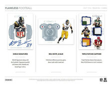 PITTSBURGH STEELERS 2017 PANINI FLAWLESS FOOTBALL 2 BOX FULL CASE BREAK #8
