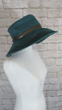 Hat Old County Road Floppy Sun Hat Womens One Size Wide Brim Blue Casual