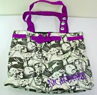 Disney Parks Nightmare Before Christmas Tote Bag Handbag Purse Black & White
