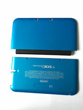 New Replacement Part A+E Cover/Shell/Housing For Nintendo 3DS XL Blue