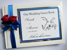 DISNEY BEAUTY AND THE BEAST PERSONALISED WEDDING GUEST BOOK  - any design