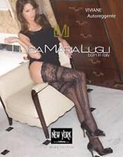 Luisa Maria Lugli Viviane Autoreggente Hosiery White Holds UPs Thigh-High L