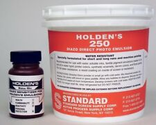 Holden's 250 Diazo Photo Emulsion for Water Based Screen Printing Inks - Quart