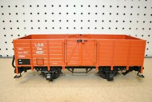 LGB 4021 Ow Brown High-Sided Gondola Car *G-Scale*