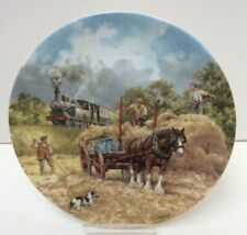 """Wedgwood Limited Edition """"The Midday Local"""" 8"""" Plate Unboxed Preowned 912Z81"""