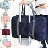 JT_ Foldable Large Duffel Bag Luggage Storage Waterproof Travel Pouch Tote Bag