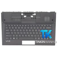 for  SONY VAIO DUO13 SVD132 SVD132A1ET SVD132A14T Palmrest US Backlit Keyboard