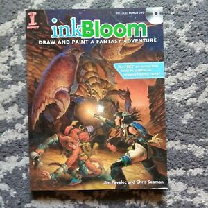 Ink Bloom: Draw and Paint a Fantasy Adventure, Good Condition
