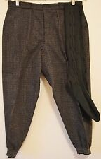 Vintage Mens Bicycle Pants Knickers Crodoni Italian and Wool Knee Socks