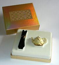 Estee Lauder White Linen Solid Perfume in Teapot - Presentation Box - New