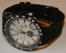 Esprit Calibre Chrono ES104031001 Herren Armbanduhr Leder Chronograph Tachymeter