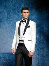 Custom Groom Tuxedos Men Suits Wedding Dinner Suit Formal Business Prom Wear