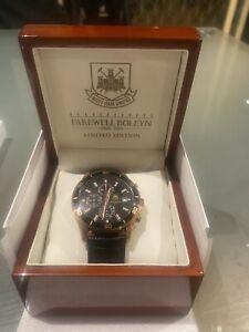 West Ham FareWell Boleyn limited Edition Watch #32/112