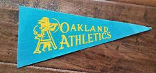"1969 OAKLAND ATHLETICS A'S AMERICAN LEAGUE AL BASEBALL TEAM MINI PENNANT 4"" X 9"""