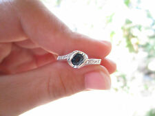 .20 Carat Diamond with Blue Sapphire White Gold ring 18K  sepvergara