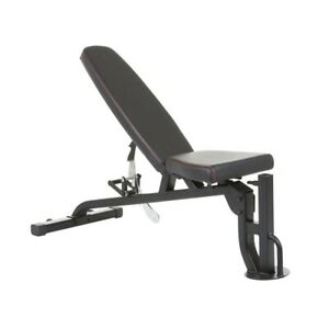 Inspire Fitness FID Commercial Adjustable Bench Optional Leg Curl & Preacher Pad