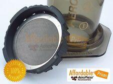 AeroPress Filter Stainless - Perky Brew Ultra Fine Reusable Steel Coffee Filter