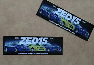 Zed 15 Anniversary sticker