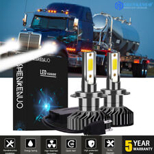 2Pc H7 Led Headlight Hid Conversion Light Bulbs 6000K Low Beam For Western Star(Fits: Whippet)