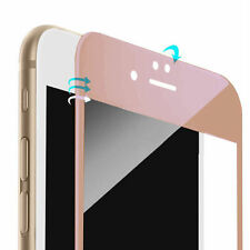 Extra Thin 0.2mm 3D Tempered Glass Screen Protector For Rose Gold iPhone 7