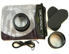 DICAPAC WATERPROOF UNDERWATER CAMERA HOUSING CASE FOR SONY DSC-V3 DSC-HX200V