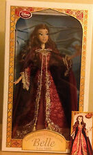 "DISNEY BEAUTY AND THE BEAST BELLE PINK 2016 LIMITED EDITION 17"" DOLL LE 5000"