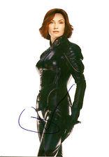 SEXY FAMKE JANSSEN original autograph grossfoto! X-Men
