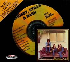 * SEALED * AUDIO FIDELITY 24KT GOLD CD / DISC - CROSBY STILLS & NASH - LIMITED #