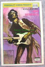 Jimi Hendrix Comic: Personality Comics Presents Rock Classics #2 Vhtf!