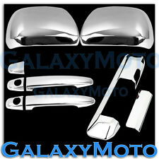 12-15 2015 TOYOTA TACOMA Chrome Mirror+2 Door Handle+Tailgate Camera hole Cover