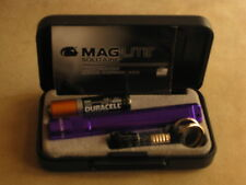 Maglite Solitaire Purple   maglight  mag-lite   mag-light