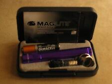 Maglite Solitaire Purple   maglight  mag-lite   mag-light
