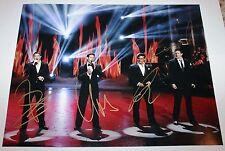 IL DIVO SIGNED 11X14 PHOTO A MUSICAL AFFAIR CARLOS MARIN URS DAVID SEBASTIEN COA