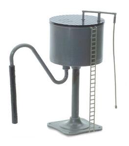 PECO LK-1 - Water Tower -Grey Plastic Unpainted Kit '00' Gauge - Tracked 48 Post