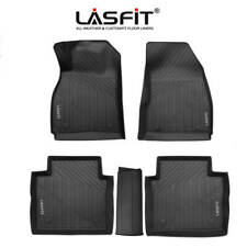 For CadillacXts 2013-2019 Tpe Floor Mat Liners Custom Black All Weather Liner