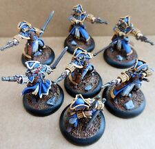 Warmachine Cygnar Arcane Tempest Gun Mages Privateer Press pro painted officier