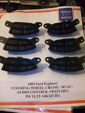 2005 Ford Explorer STEERING WHEEL CRUISE & AUDIO HVAC SWITCH s    1L2T-14K147-BA