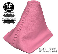 PINK REAL LEATHER MANUAL GEAR GAITER FOR VW NEW BEETLE 1998-2011