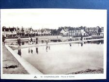 14 , courseulles ,les parcs à huitres  en 1933