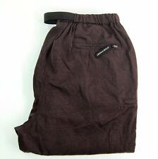 North Face women nylon shell outdoor hiking pants graphite grey Size Large