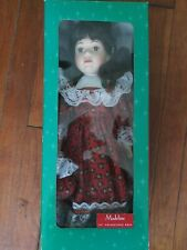 Vintage Poercelain Doll - 16 in. Madeline doll by Mervyns