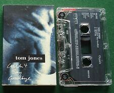 Tom Jones Couldn't Say Goodbye / Zip it Up Cassette Tape Single - TESTED