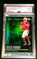 PSA 9 POP 4 KYLER MURRAY RC /99 *NONE HIGHER *GREEN PRIZM ROOKIE *2019 Illusions