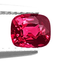 Spinel 0.78ct Flawless Look aaa reddish pink color 100%natural earth mined Burma