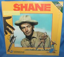 SHANE 1952 LASERDISC PARAMOUNT HOME VIDEO LASER DISC