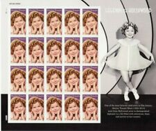 Shirley Temple Sheet of 20 Forever Postage Stamps Stamps Scott 5060 Stuart Katz