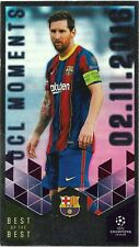TOPPS BEST OF THE BEST 2020/21 UCL MOMENTS LIONEL MESSI NO 154