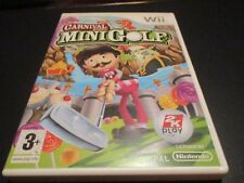 "JEU WII ""CARNIVAL GAMES - MINIGOLF"" Edition Francaise"