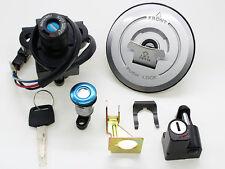 Gasolina Gas Tapón Interruptor de encendido CASCO Candado Llave Juego para HONDA